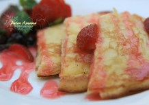 strawberry-waffles