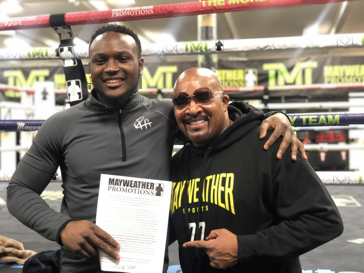 Viddal Riley To Make Mayweather Promotions Debut 2/28 In Vegas - Boxing News