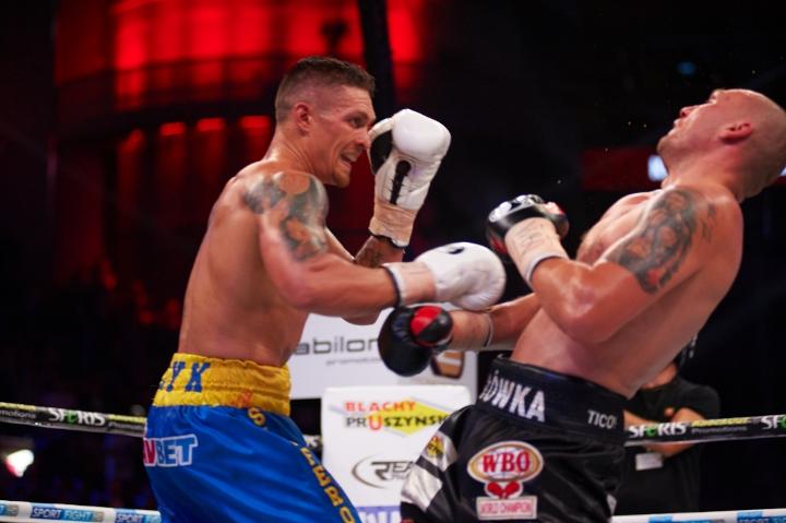 Znalezione obrazy dla zapytania usyk glowacki boxingscene