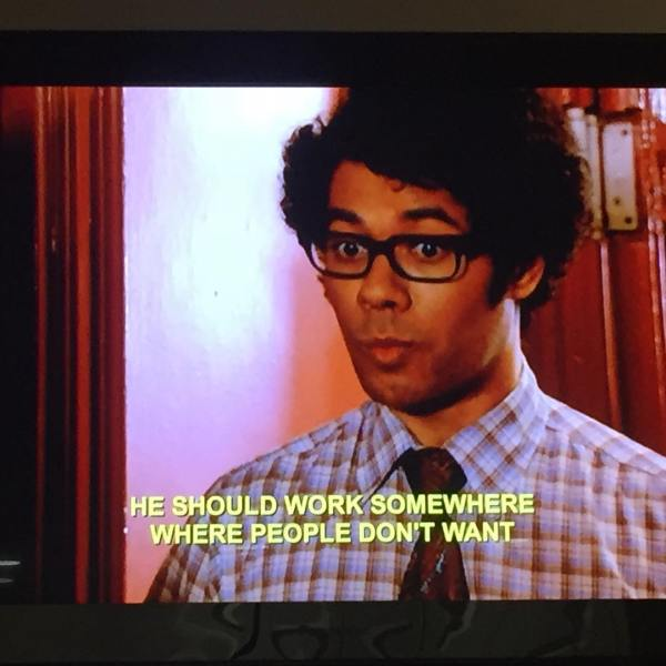 The IT Crowd ?