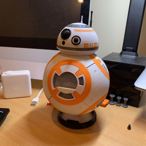 Listening to John Montone 1010 WINS on a BB-8 is surreal.