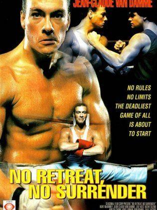 فيلم No Retreat No Surrender 1986 طاقم العمل فيديو