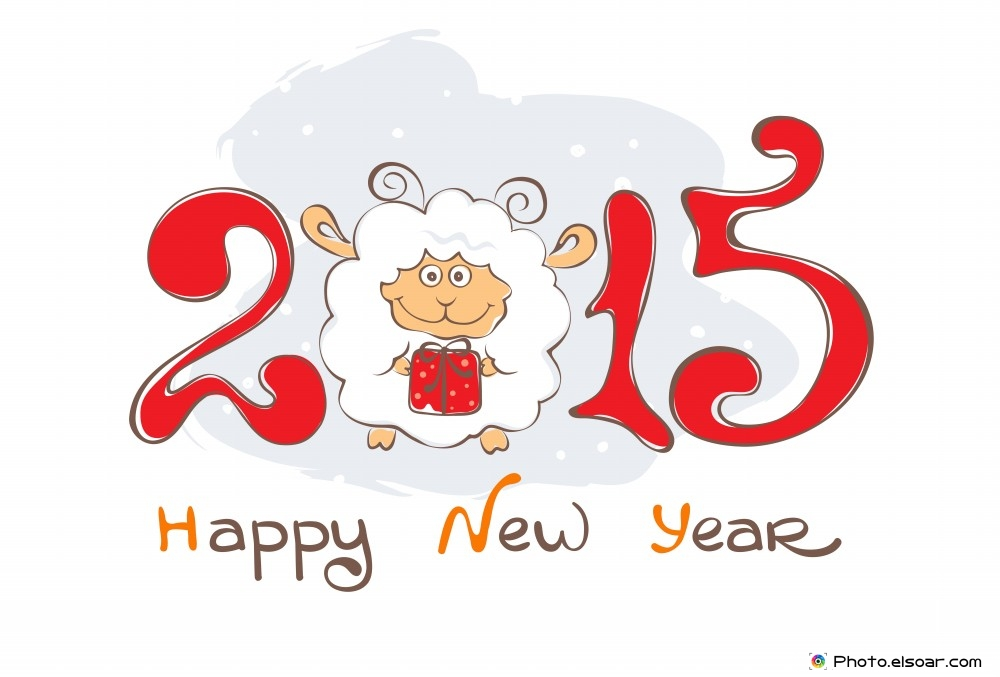 sheep happy new year