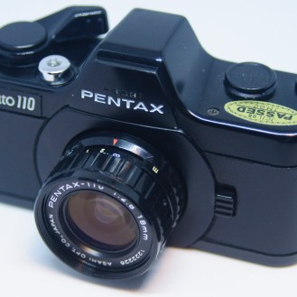Pentax 110 front side