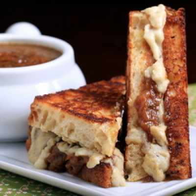 french onion soup sandwich