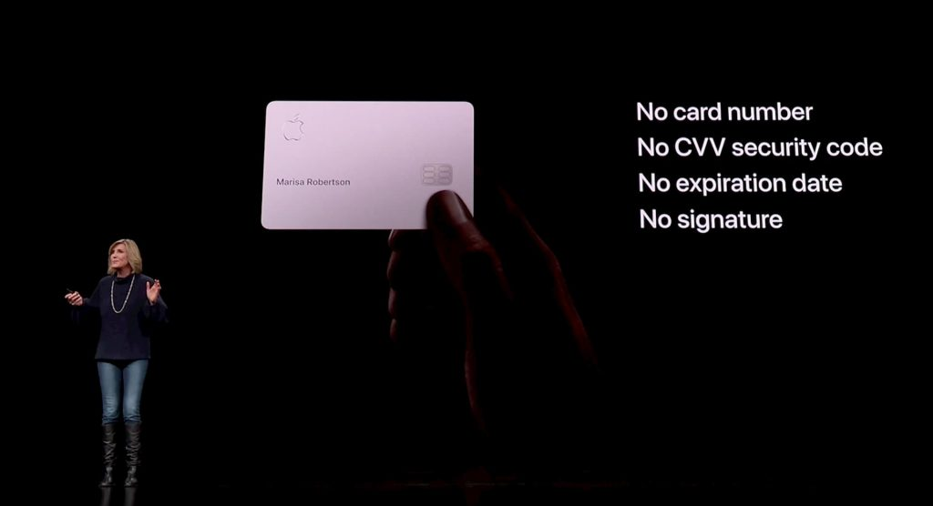 Apple issues Apple Card credit card