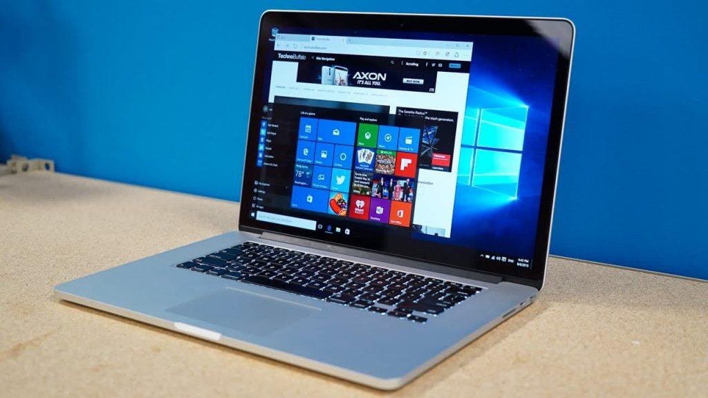 installing Windows 10 on Apple computers