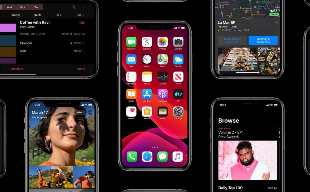 Apple introduced iOS 13
