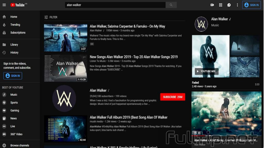 Tricks to watch youtube on PC