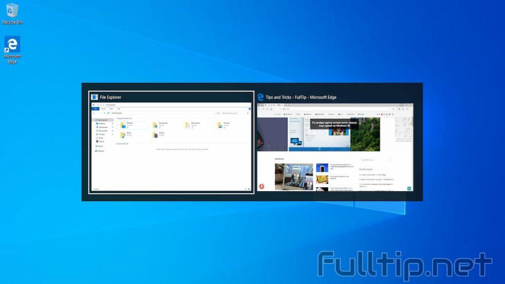 alt tab windows 10