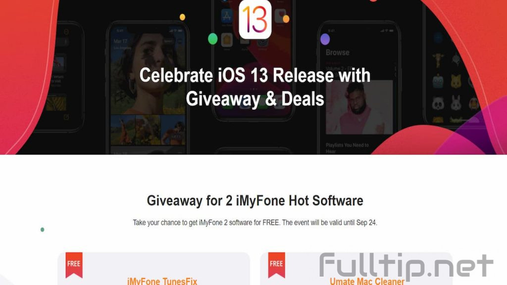 Free iMyFone TunesFix and Umate Mac Cleaner for free