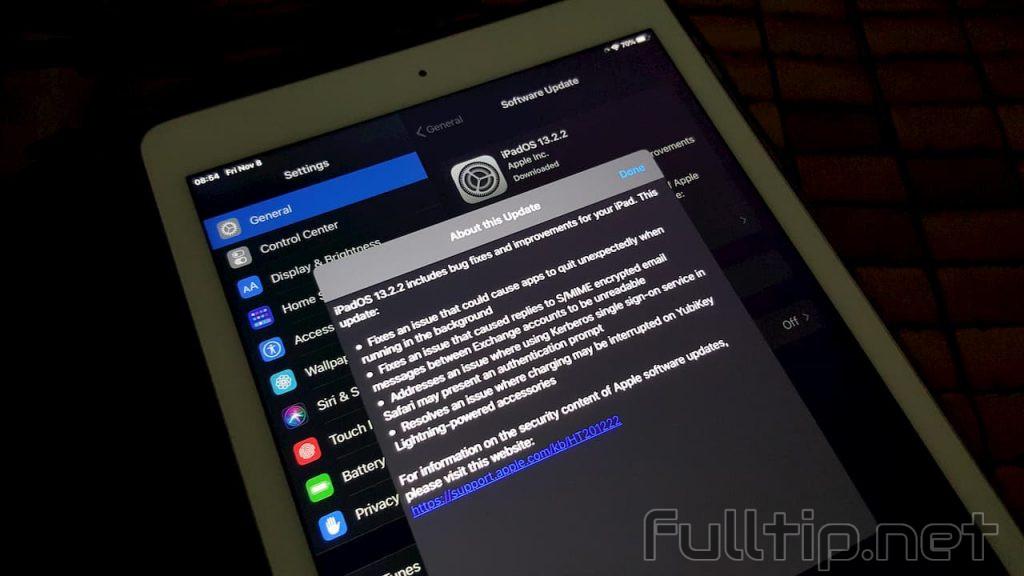 Apple released iOS 13.2.2