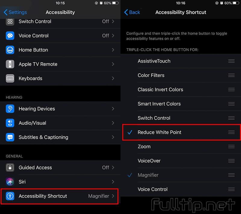adjust screen brightness darker than iOS limit