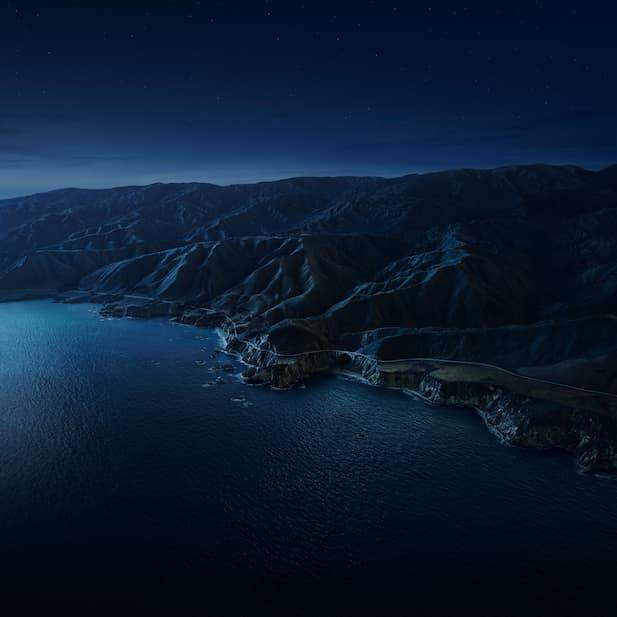 macOS Big Sur night 6k