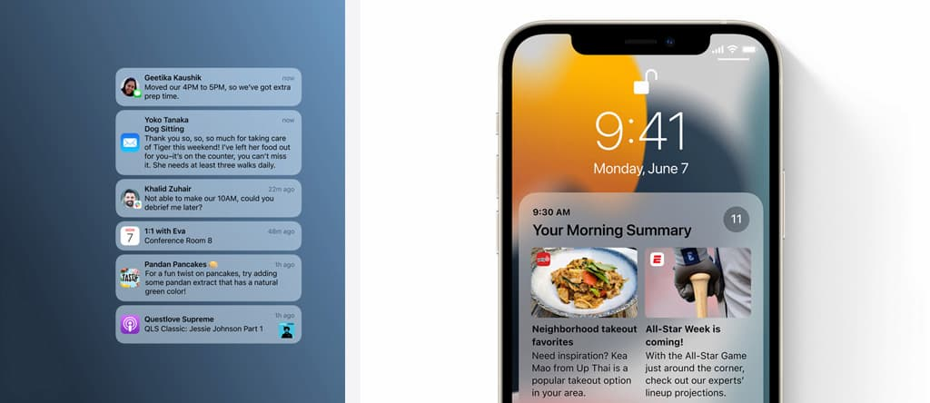The most prominent new changes and features on iOS 15 5