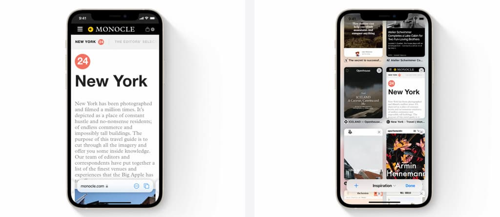 The most prominent new changes and features on iOS 15 6