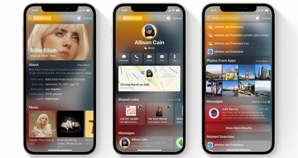 The most prominent new changes and features on iOS 15 8