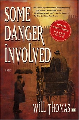 Some Danger Involved by Will Thomas cover from GoodReads
