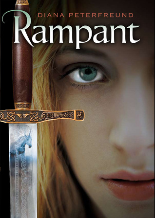 Diana Peterfreund, Rampant, Book Cover, unicorns