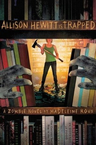 Allison Hewitt is Trapped -US cover