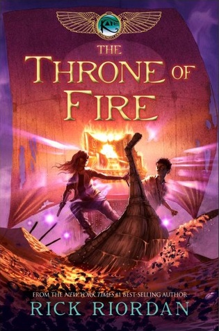 The Throne of Fire (Kane Chronicles #2)
