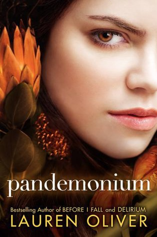 Book cover for Pandemonium by Lauren Oliver