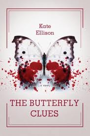 Book cover for The Butterfly Clues by Kate Ellison