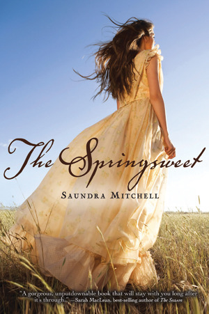 Book cover for The Springsweet by Saundra Mitchell