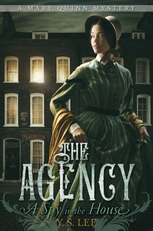 Cover art for the Agency taken from GoodReads