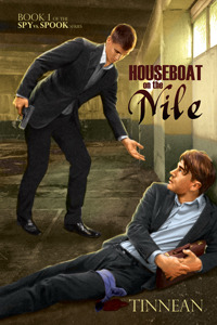 Houseboat on the Nile (Spy vs. Spook, #1) by Tinnean