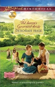 The Baron's Governess Bride by Deborah Hal