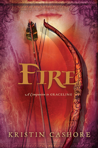 Fire by Kristin Cashore, cover art