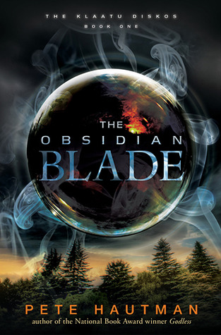 Book cover for The Obsidian Blade by Pete Hautman
