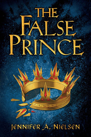 Book cover for The False Prince by Jennifer A. Nielsen
