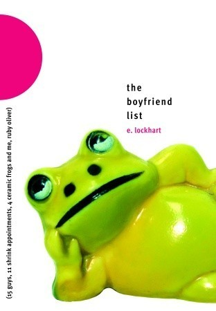 The Boyfriend List: 15 Guys, 11 Shrink Appointments, 4 Ceramic Frogs and Me, Ruby Oliver (Ruby Oliver, #1)