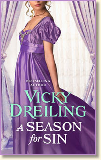 A Season for Sin by Vicky Dreiling