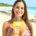 またまた『世界さまぁ~リゾート』で巨乳美女のピンク乳首がポロリのハプニング!