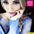 『アナの雪の女王』エルサそっくりのモデル アンナ・フェイス(18歳)がインスタでうっかりバストトップを公開!