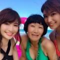 小嶋陽菜『有吉の夏休み2017』芸人たちにおっぱいポロリ、横乳、胸チラ大サービス!