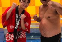 鈴木あきえ『王様のブランチ』卒業SPで熱湯風呂でスパッツ透けマンハプニングw