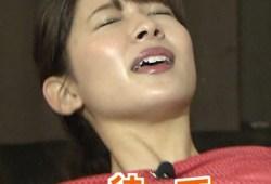 山本里菜アナ『サンジャポ』で乳首透け&バキューム疑似フェラでお口にドピュw