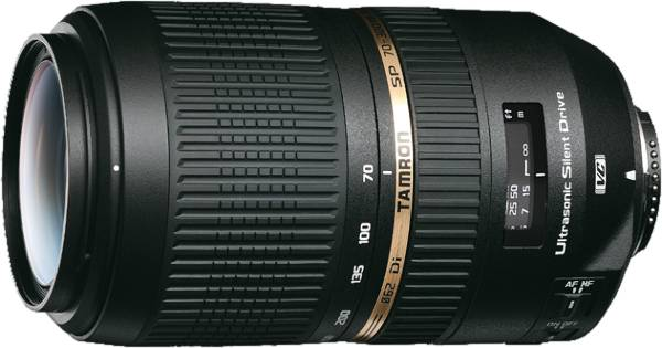 Le SP 70-300 mm, un très bon rapport qualité-prix. - document Tamron