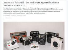 Instax ou Polaroid, sur Le Monde