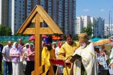 04 - Освящение закладного креста