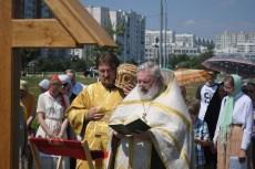 05 - Освящение закладного креста