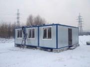 4 - Установка служебного здания