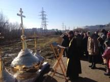 17 - Освящение куполов храма