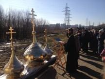 18 - Освящение куполов храма