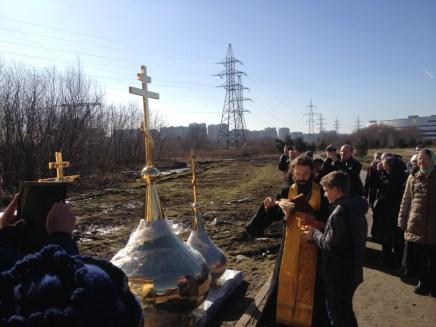 23 - Освящение куполов храма