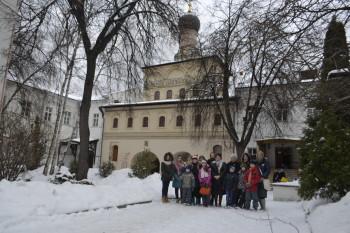 Поездка в Андреевский Ставропигиальный мужской монастырь.